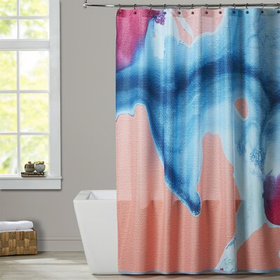 Deb McNaughton Prettiest Peach Shower Curtain