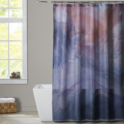 Deb McNaughton Gray Highlighed Shower Curtain