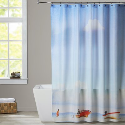 Mina Teslaru Lonely Skies Mexico Shower Curtain