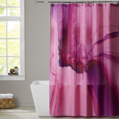Deb McNaughton Marbled Shower Curtain