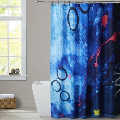 Deb McNaughton XO Splatter Shower Curtain