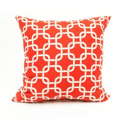 Danko Indoor/Outdoor Throw Pillow Color: Red