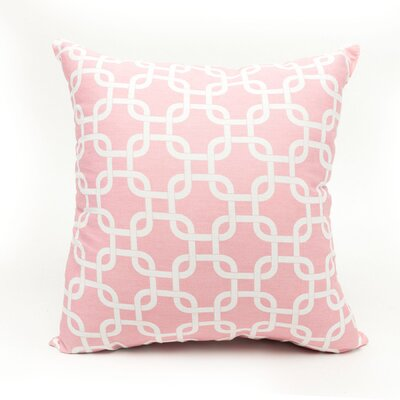 Danko Indoor/Outdoor Throw Pillow Color: Pink