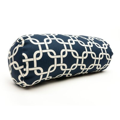 Danko Indoor/Outdoor Bolster Pillow Color: Navy Blue