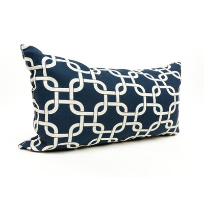 Danko Outdoor Lumbar Pillow Color: Navy Blue