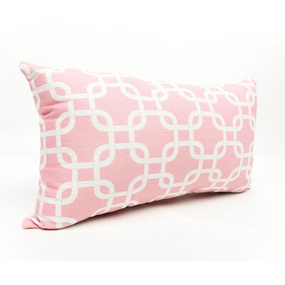 Danko Outdoor Lumbar Pillow Color: Pink