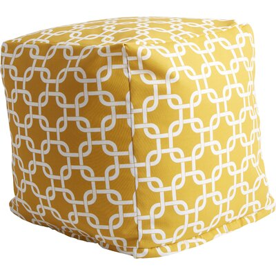Banas Pouf Color: Yellow