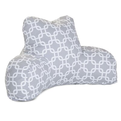 Banas Indoor/Outdoor Bed Rest Pillow Color: Gray