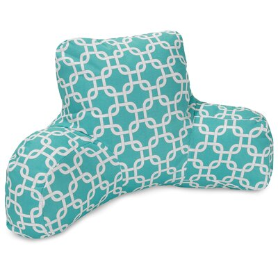 Danko Indoor/Outdoor Bed Rest Pillow Color: Teal