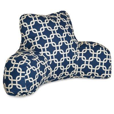 Danko Indoor/Outdoor Bed Rest Pillow Color: Navy