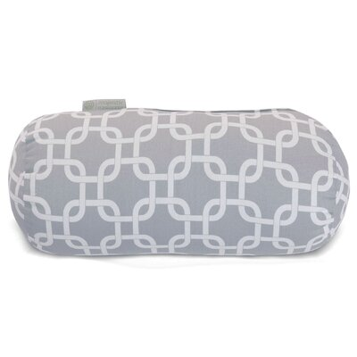 Danko Indoor/Outdoor Bolster Pillow Color: Gray