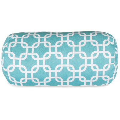 Danko Indoor/Outdoor Bolster Pillow Color: Teal