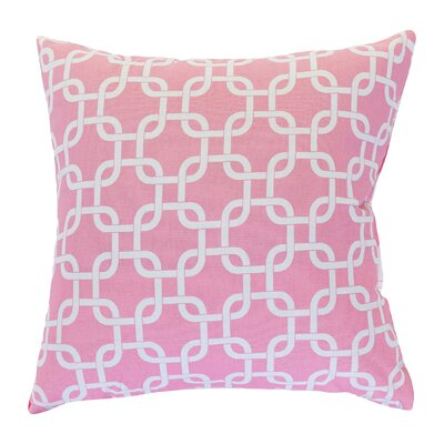 Banas Indoor/Outdoor Throw Pillow Size: Extra Large, Color: Soft Pink