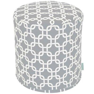 Danko Small Pouf Fabric: Gray