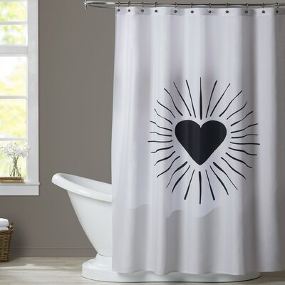 Brotherton Heart Burst Shower Curtain