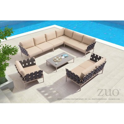 Tasteful Sectional Set Cushions Cianciolo - Product picture - 3542