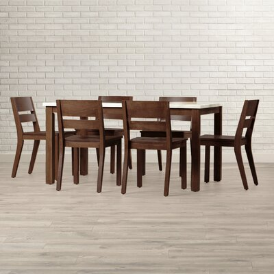 Losey 7 Piece Dining Set