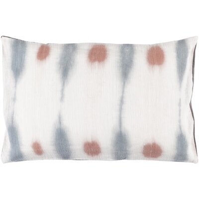 Morford Lumbar Pillow Color: Rust / Slate