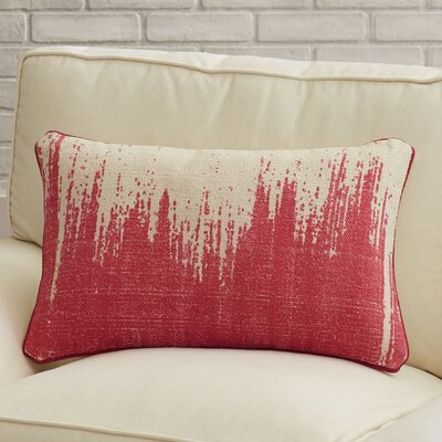 Adel Lumbar Pillow Color: Hot Pink
