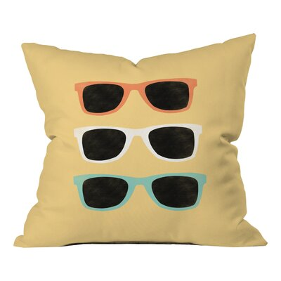 Baltazar Summer Shades Indoor/Outdoor Throw Pillow Size: 18 H x 18 W