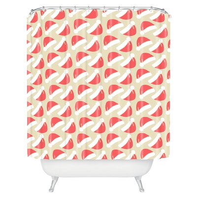 Borowski Santa Hats Shower Curtain