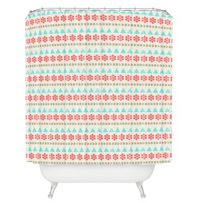 Bonin Holiday Style Shower Curtain