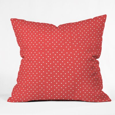 Eccles Dots Throw Pillow Size: Large