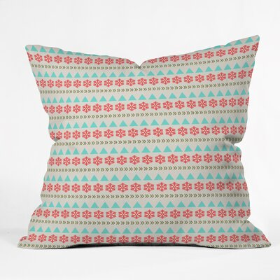 Arter Holiday Style Throw Pillow Size: Small