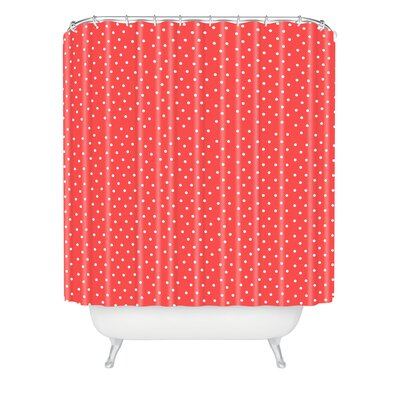 Banister Dots Shower Curtain