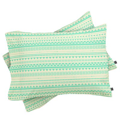 Edens Tribal Pillowcase Size: Standard