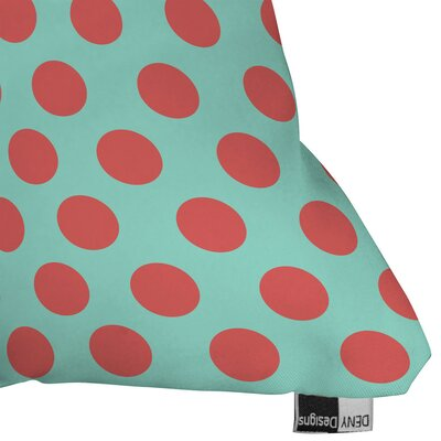 Mouton Adorable Dots Outdoor Throw Pillow Size: 18 H x 18 W x 5 D