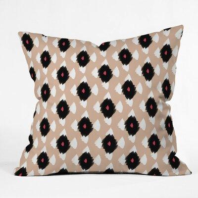 Mouton Ikat Class Outdoor Throw Pillow Size: 18 H x 18 W x 5 D