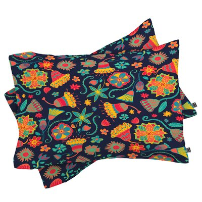 Cunniff Bloom 1 Pillowcase Size: King