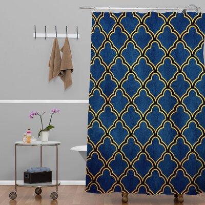 Carrion Quatrefoil Shower Curtain
