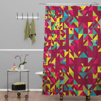Biller Chaos 3 Shower Curtain