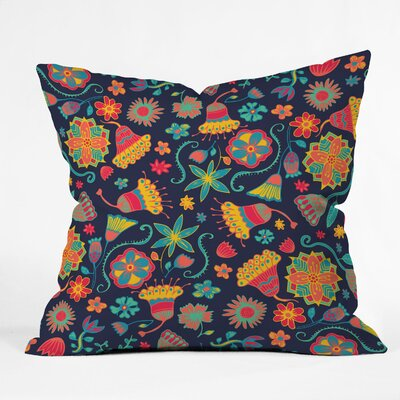 Cunniff Bloom 1 Throw Pillow Size: Small