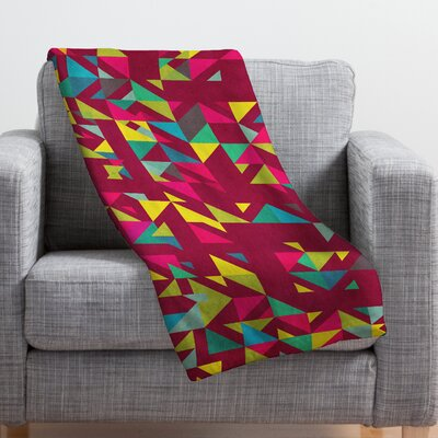 Cunniff Chaos 3 Throw Blanket Size: 60 H x 50 W