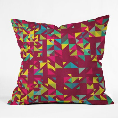 Cunniff Chaos 3 Throw Pillow Size: Large
