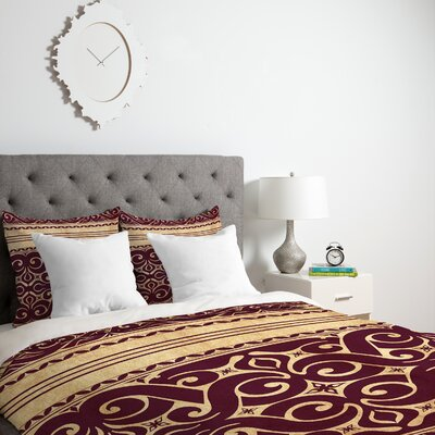 Cunniff Beru Duvet Cover Size: Queen, Fabric: Lightweight