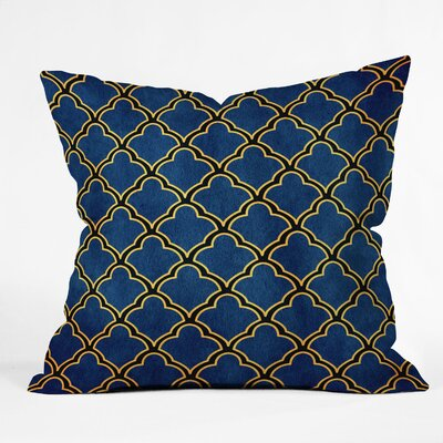 Cunniff Quatrefoil Throw Pillow Size: Small