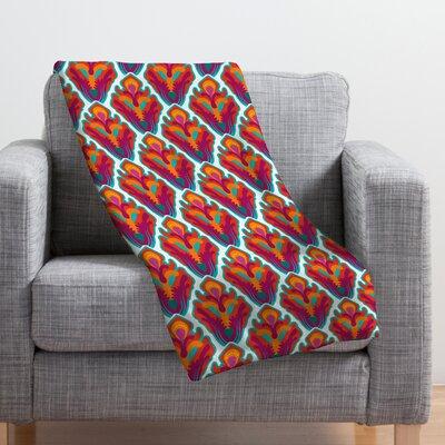 Cunniff Rococo Throw Blanket Size: 80 H x 60 W