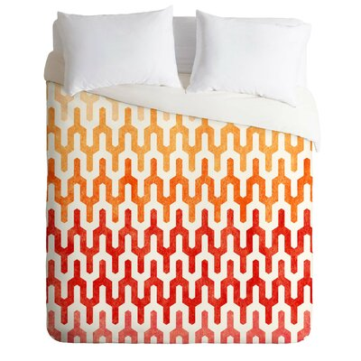 Callis Duvet Cover Size: King, Fabric: Lightweight