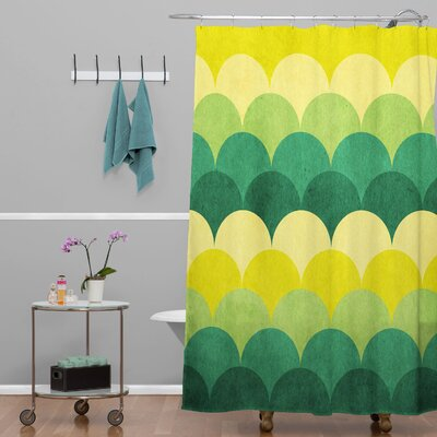Bartos Scales Shower Curtain