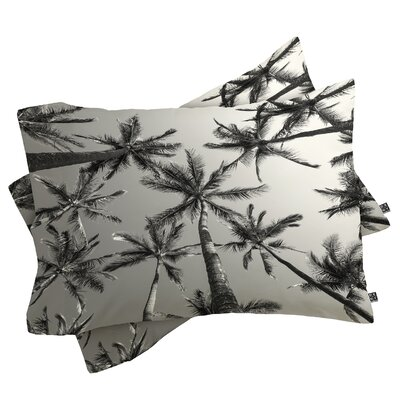 Addis Palms Pillowcase Size: King