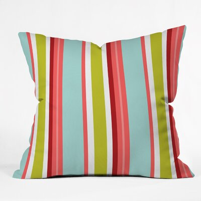 Clubb Amagansett Indoor/outdoor Throw Pillow Size: Small