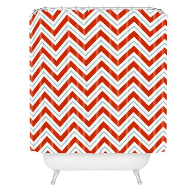 Castelli Peppermint Shower Curtain