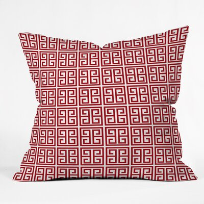 Crews Jolie Throw Pillow Size: Small