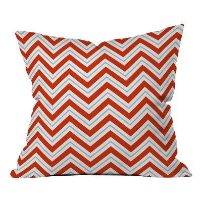 Goncalves Peppermint Throw Pillow Size: Small