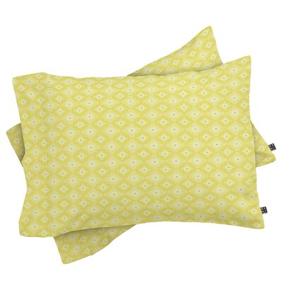 Burkhart Spirals Pillowcase Size: King