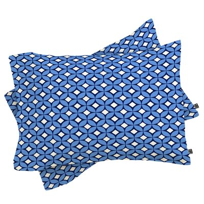 Pillowcase Color: Blueberry, Size: King
